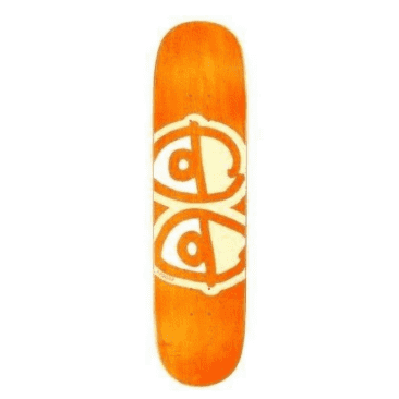 Krooked Skateboards Deck Team Eyes Yellow 8.06""