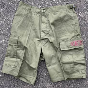 Kinetic Better Living Oval Cargo Shorts (Olive Drab)