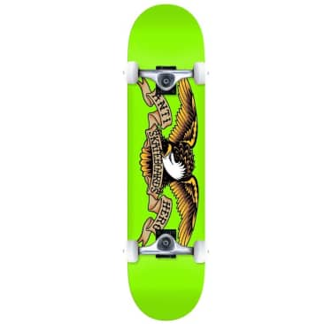 Anti Hero Classic Eagle Large Complete Skateboard Green 8""