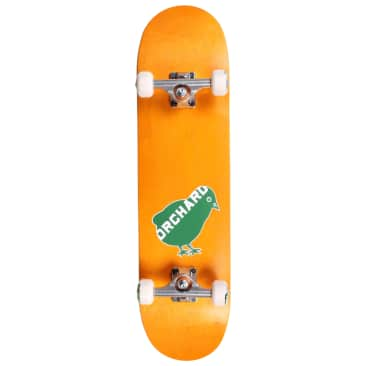 Orchard Bird Logo Green/Yellow Standard Complete Skateboard 7.87 (With Free Skate Tool)