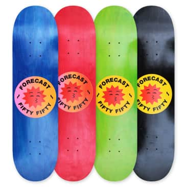 Fifty Fifty X Fore-Cast Deck Assorted Size & Colours