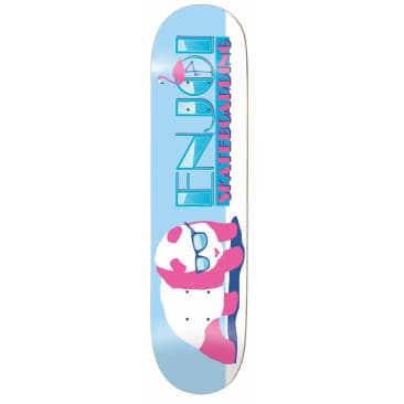 "Enjoi Skateboards - 8.0"" Panda Vice Deck (Blue)"