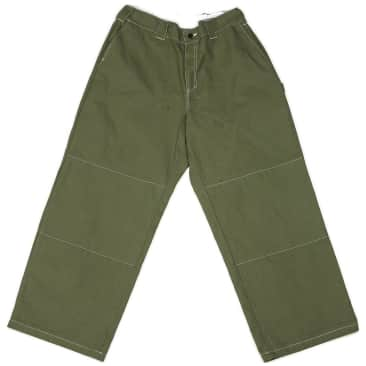 Poetic Collective Sculptor Canvas Pants - Olive