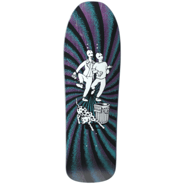 The New Deal Douglas Chums Screen Print Deck 9.75