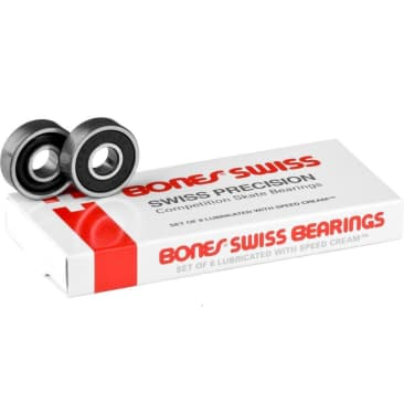 Bones Swiss Super 608 Original Bearings (Set of 8)