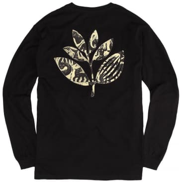 Magenta Skateboards Zoo Plant Long Sleeve T-Shirt - Black