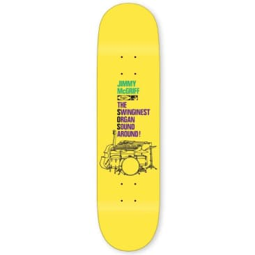 Traffic The Worm Deck 8.25""