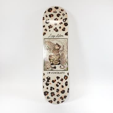 "Lovenskate - 8.25"" Lucy Adams Master Of Camo Deck"
