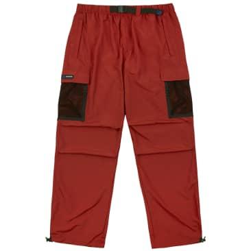 Bronze 56k Mesh Cargo Pants - Rust