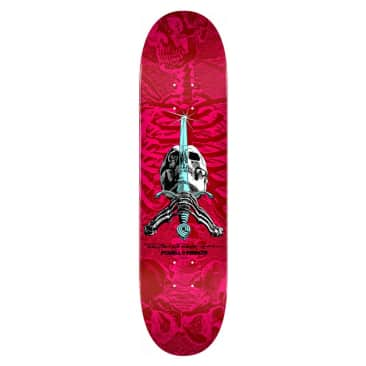 Skull and Sword - Red/Pink - 8.5