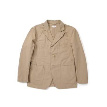 Engineered Garments Bedford Jacket Cotton Ripstop - Khaki