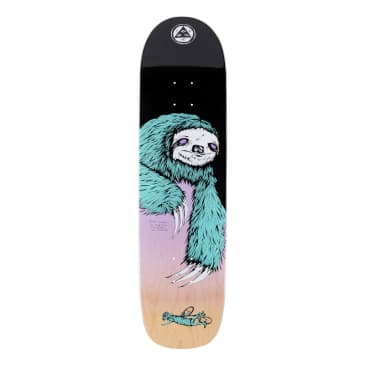 """Welcome Deck - Sloth on Son of Planchette - Black/Lavender 8.38"""""""