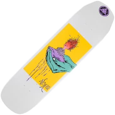 "Welcome Nora Vasconcellos Soil On Wicked Princess White Dip Deck (8.125"")"