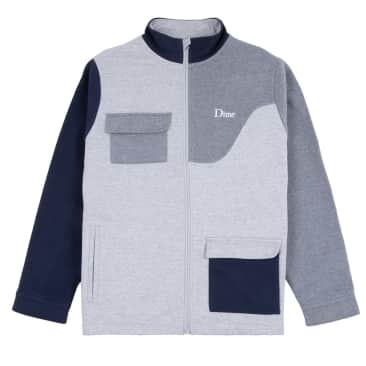 Dime - Brushed Cottom Track Jacket - Heather