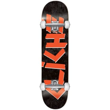 "Cliche - 7.75"" Scotch First Push Complete Skateboard (Black / Red)"