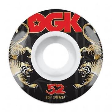 DGK Skateboards Strength Skateboard Wheels 101a 52mm