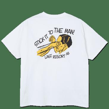 Last Resort Stick It T-Shirt - White