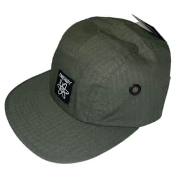 Energy Skate Shop OG Logo 5-Panel Hat (Green)