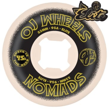 Oj Nomads Wheels 95A 53mm
