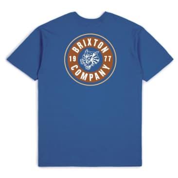 Brixton - Brixton Rage T-Shirt | Cobalt Blue