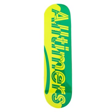 "Alltimers Waves Estate Green Skateboard Deck - 8.1"""