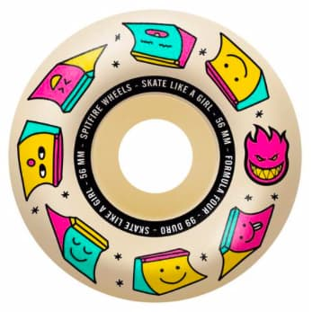 Spitfire - F4 99 Sk8 Like a Girl Natural 56mm