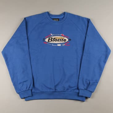 Bronze 'Tool Time' Crew (Royal Blue)