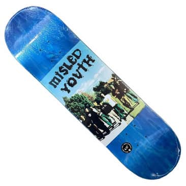 Zero Deck Misled Youth 8.25x32 Assorted Veneers
