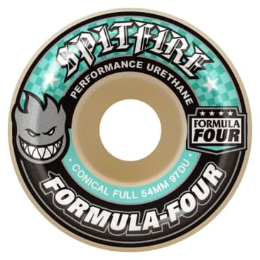 Spitfire Formula Four Wheels Conical Full 97a Natural 54mm