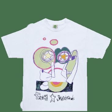 Frog Senseless T-Shirt - White
