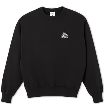 Last Resort AB Half Globe Sweatshirt - Black