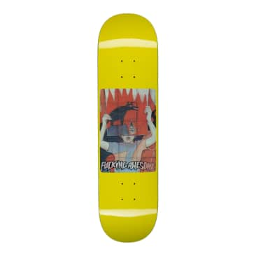Fucking Awesome Tiger Holographic Yellow Deck - 8""