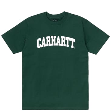 Carhartt WIP University T-Shirt - Treehouse / White