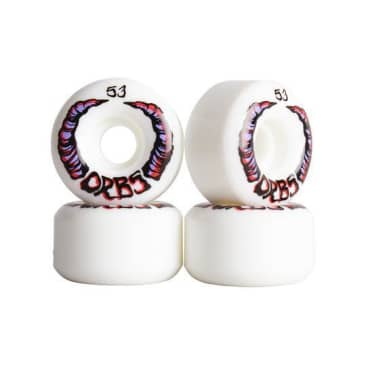 Orbs Apparitions Whites 99a - 53mm Skateboard Wheels