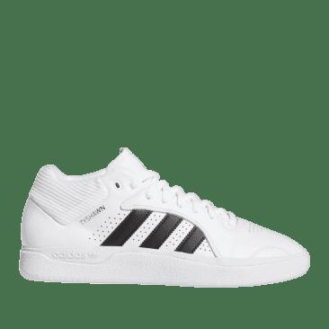 adidas Skateboarding Tyshawn Shoes - Ftwr White / Core Black / Ftwr White