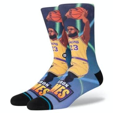 STANCE JAMES FAST BREAK SOCK - MULTI
