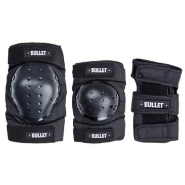Bullet - Triple Pad Set - Black - Youth One Size Fits All