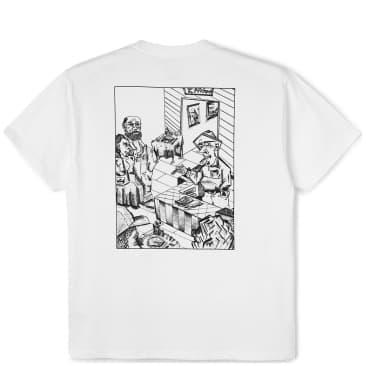 Polar Skate Co Bistro T-Shirt - White