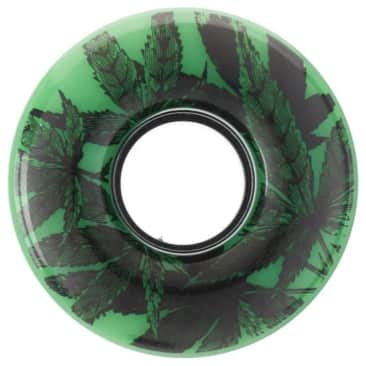 Girl Skateboards Trees Cruiser Wheels Green 56mm 80a