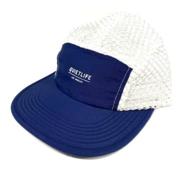 The Quiet Life Mesh Strapback Hat - Blue / White