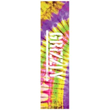 Grizzly Tie Dye Stamp Griptape