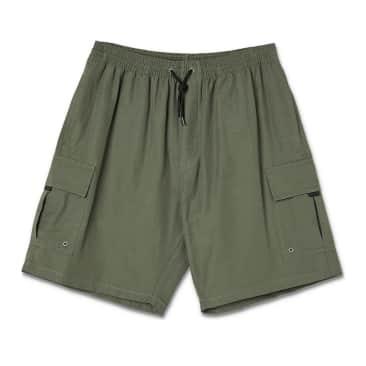 Polar Skate Co Utility Swim Shorts - Olive
