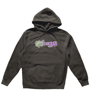 always do what you should do always 3116 hoodie - Black