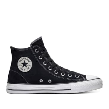 Converse CONS CTAS Pro Hi Shoes - Black / Black / White