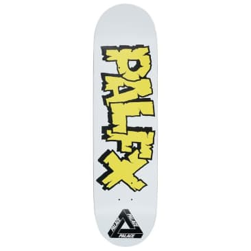 Palace Skateboards - Nein FX White Deck 8.375