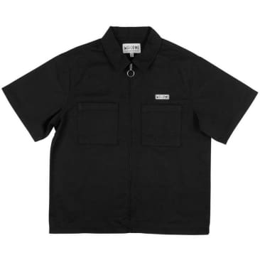 Welcome - Bapholit Zip Work Shirt (Black)