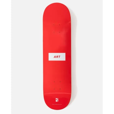 """Poetic Collective ART deck red 8.25"""""""
