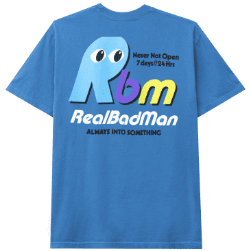 Real Bad Man Never Not Open T-Shirt - Blusey
