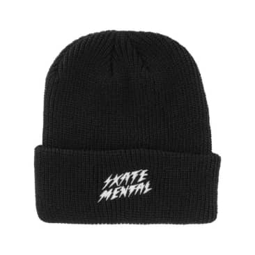 Skate Mental Bolts Beanie - Black