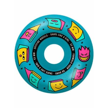 Spitfire - F4 99 Sk8 Like a Girl Blue 53mm